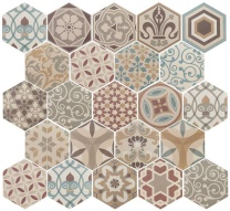 HEXATILE Harmony Colours 17,5x20 (EQ-10D) (1bal=0,715m2)